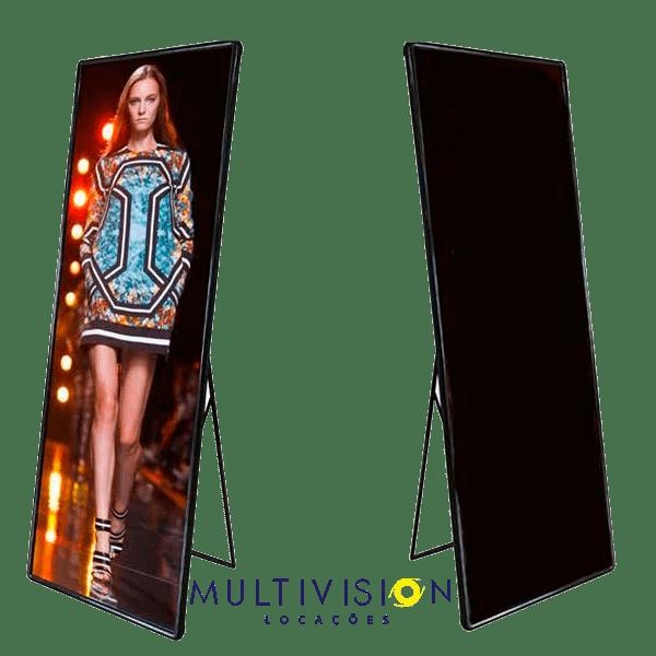 Poster LED Display - Outdoor LED Poster Display Painel de LED Venda e Locação - Painéis de LED