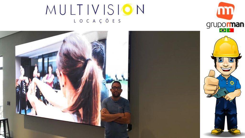 Comprar painel de LED indoor  Multivision Locações
