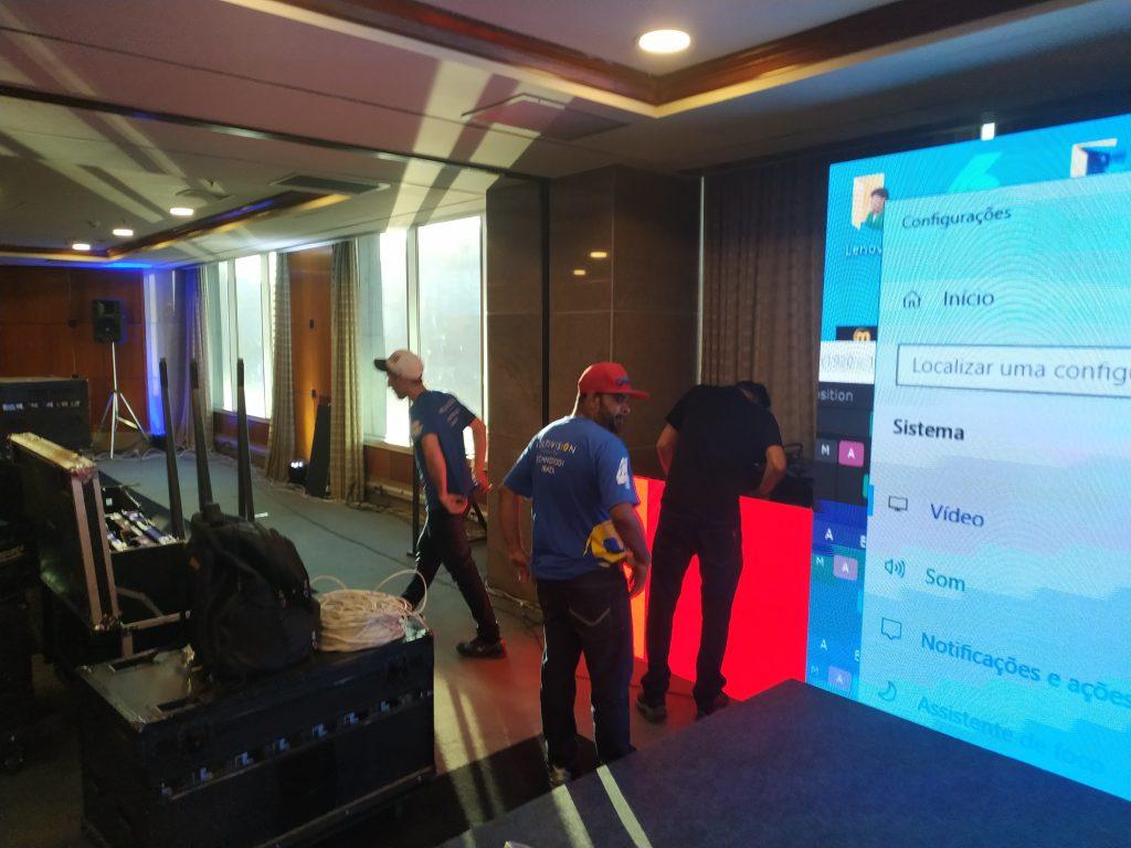 FABRICA DE PAINEL DE LED PARA EMPRESAS E EVENTOS Multivision Locações