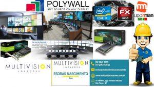 Software Polywall para Gerenciamento de Sistemas de Videowall