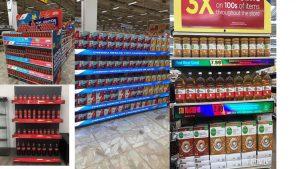 Locação Painéis de LEDs para Gondolas de Supermercados. Aluguel de Painéis de LEDs para Gondolas
