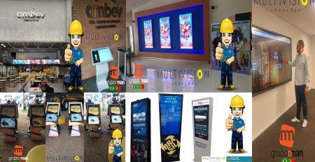 Monitores Touchscreen
