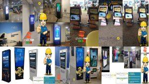 Locação de Monitores Touchscreen - Aluguel de Monitores de Touchscreen