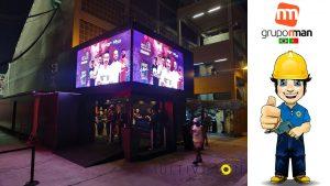 Aluguel de Painel de LED -Locação de Painel de LED EM Curitiba Florianópolis Porto Alegre