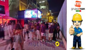 ALUGUEL DE PAINEL DE LED INDOOR E OUTDOOR.Multivision Locações Marquês de Sapucaí Carnaval 2020 RJ