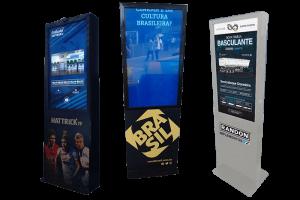 ALUGUEL E VENDA Totem touch screen | Módulo de autoatendimento Multivision Locações EM TODO BRASIL