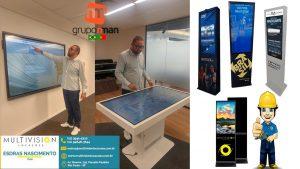 locacao tela touch screen - Multivision Locações