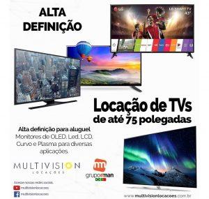 Aluguel de Televisores - Locações de Tvs-LOCAR TV-TV NO PEDESTAL-TV 4K