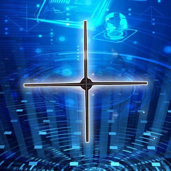 Aluguel Holograma 3d- Ventilador Holograma 3d