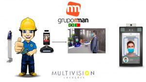 Totem Medidor de Temperatura corporal   Solicite um Orçamento   GRUPO NMAN   Multivision Locações