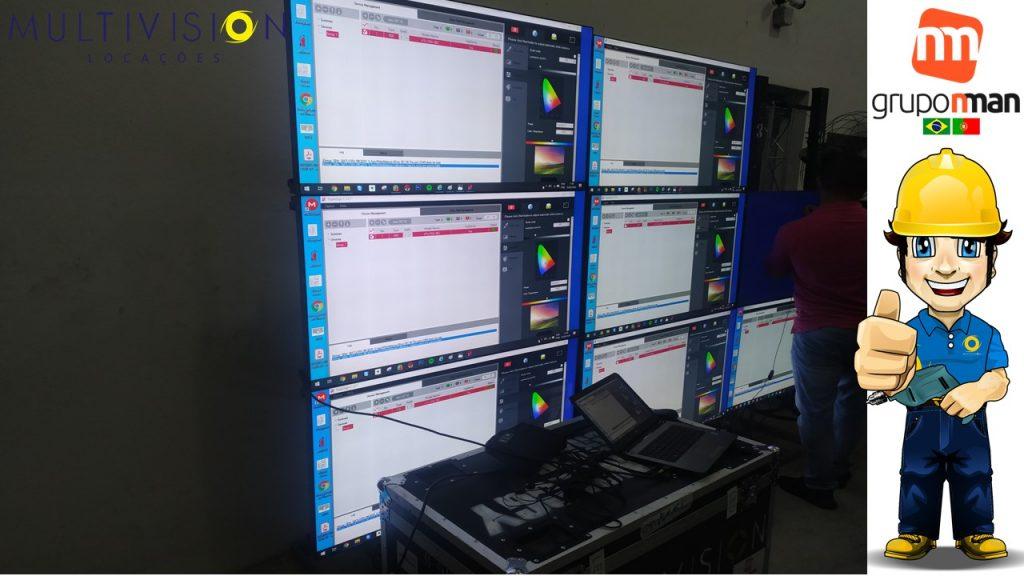 calibração de monitores Profissional de vídeowall PAINEL DE LED Faça seu Projeto com a Maior Especialista em VideoWall do Brasil,
