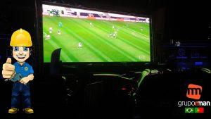 Aluguel De Painel LED PARA Cine Drive-in sonorização iluminação Sistema FM EM Vila Olímpia