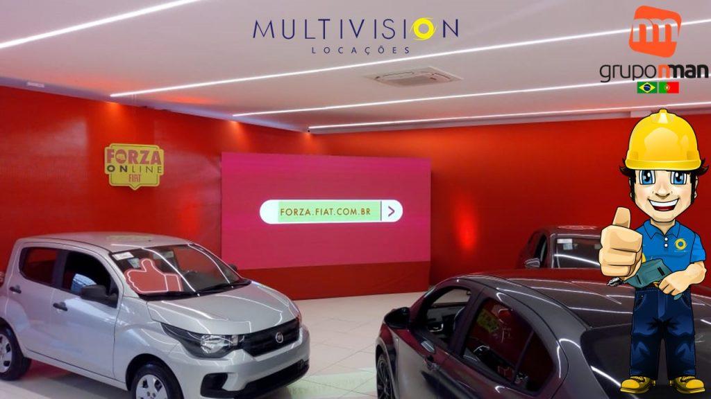 Locação de Painel de Led PARA LIVE Multivision Locações