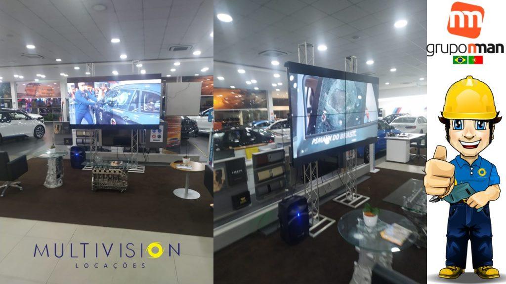 Aluguel de Video Wall  Evento Grand Brasil SP | BMW