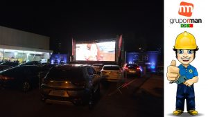 Cine Drive-in EVENTO BMW Grand Brasil