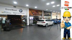 EVENTO GRAND BMW CINE DRIVE-IN Soccer Futebol O PRIMEIRO DO BRASIL Multivision Locações GRUPO NMAN BRASIL