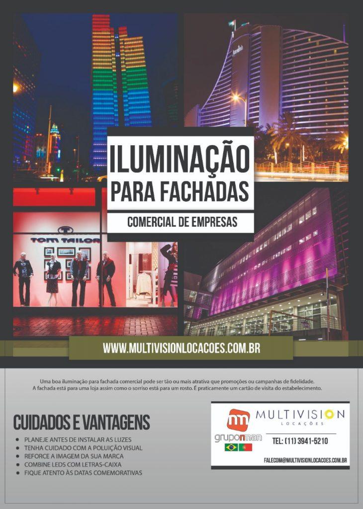ILUMINAÇÃO PARA EVENTOS E Fachada de Prédio no Bairro de Anhanguera -SP