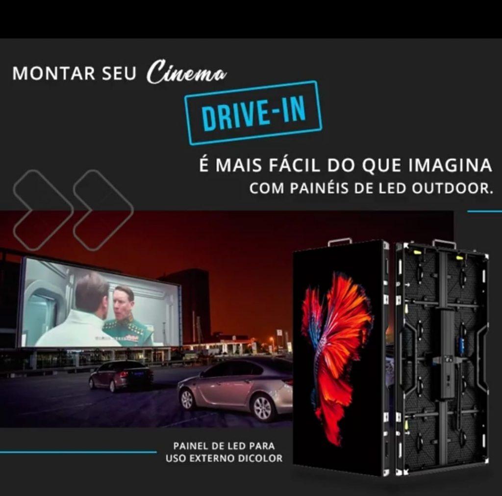 O Cinema Drive-In virou tendência novamente por trazer segurança, conforto, e uma experiência diferente para seus usuários.