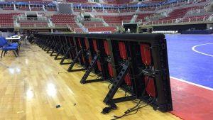 Painel de led Para o Estádio de futebol - Multivision Locações