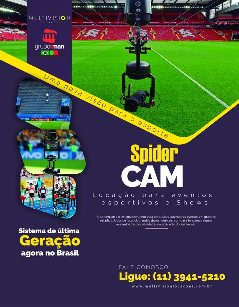 Conheça a câmera que parece voar e chegou pra revolucionar a filmagem de eventos esportivos aluguel
