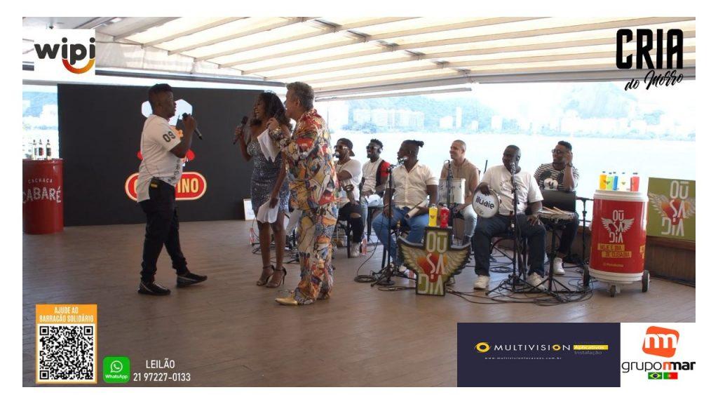 Locação Painel De Led para Eventos|ALUGUEL DE PAINEL DE LED Rio de Janeiro Live Barracão Solidário