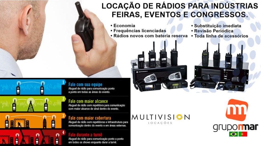 Aluguel  Rádio HT Aluguel Rádio Comunicador Bairro Alto de Pinheiros -SP