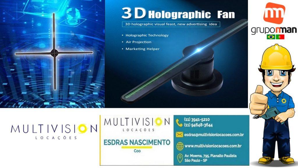 Locação de holograma 3d NO BAIRRO de Anhanguera SP