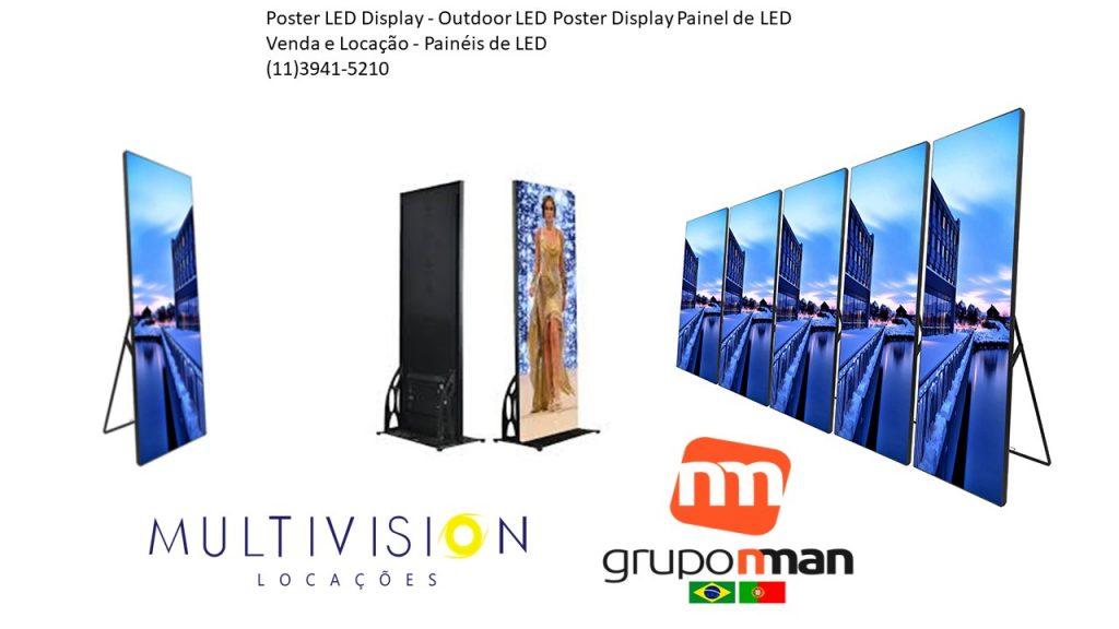 Led Poster-VENDA DE LED POSTER-ALUGUEL DE LED POSTER-Locação DE LED POSTER NO BRASIL