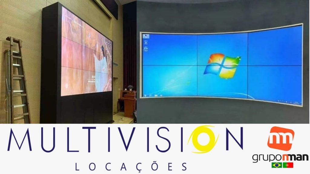 Oferta - VideoWall 3x3 - Para 9 monitores - Preço Baixo